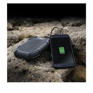 Odolná černá nabíječka na cesty Veho Global Group Pebble Endurance Powerbank 10 Pro, 15000mAh