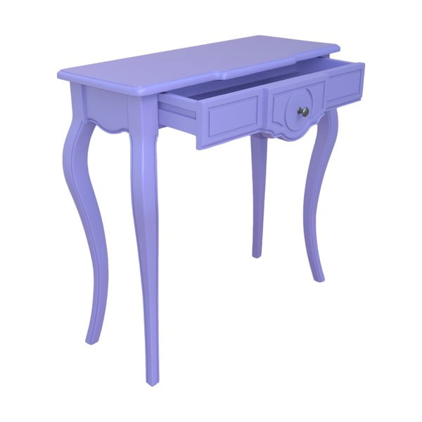 Konzolový stolek Arched, fialový