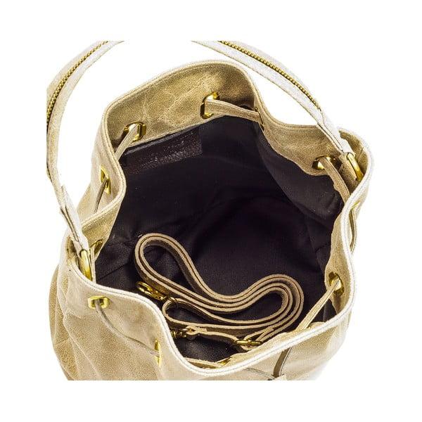 Kožená kabelka Lisa Minardi 6885 Taupe