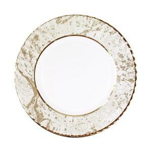 Sada 8 velkých pevných papírových talířů s dekorativním motivem Talking Tables