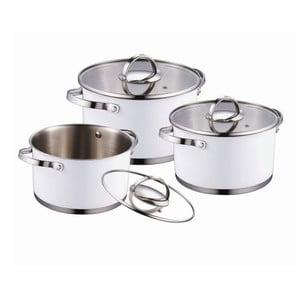 Set Cookware White, 6 ks