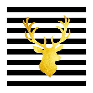 Obraz Canvas Framework Deer, 50 x 50 cm