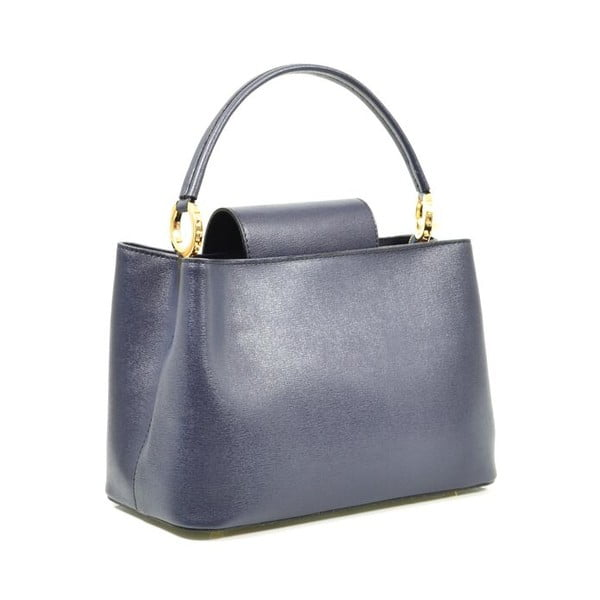 Kožená kabelka Sophia, modrá