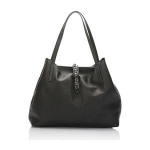 Kožená kabelka Giulia Massari 3002 Black