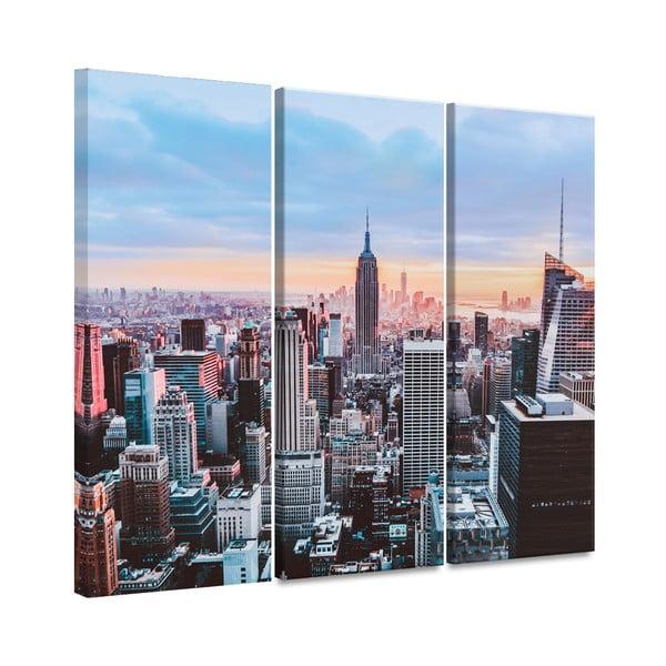 Tablou imprimat pe pânză Styler Destination, 81 x 75 cm