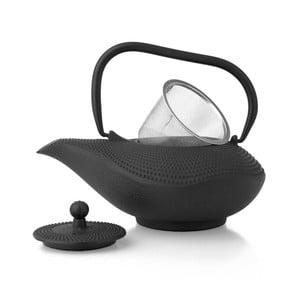 Ceainic din fontă cu infuzor Bredemeijer Alladin 1 l, negru