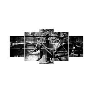 Vícedílný obraz Black&White no. 58, 100x50 cm
