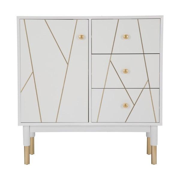 Bílá skříňka Mauro Ferretti Luxy, šířka 80cm