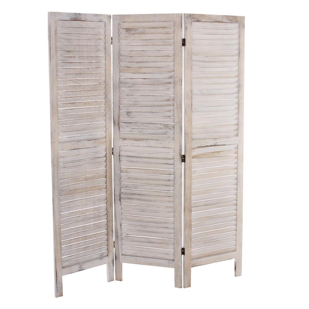paravan shabby white 138 cm bonami. Black Bedroom Furniture Sets. Home Design Ideas