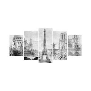 Vícedílný obraz Black&White no. 67, 100x50 cm
