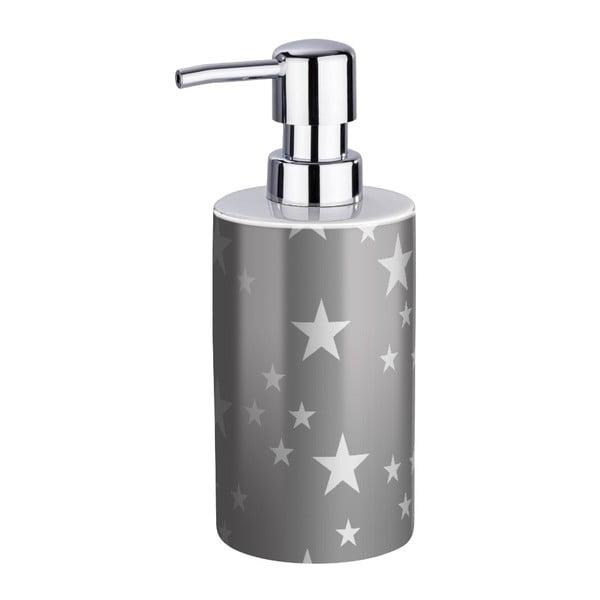 Szary ceramiczny dozownik do mydła Wenko Stella