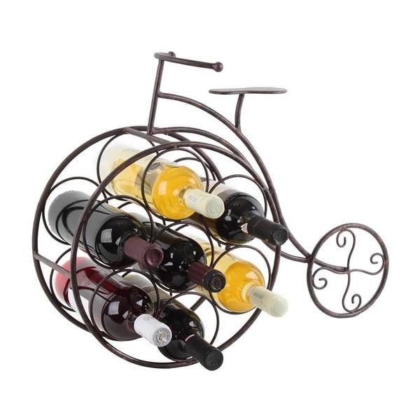 Stojan na lahve vína Rustic Bike