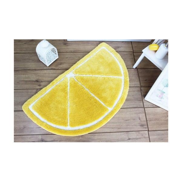 Předložka do koupelny Lemon, 100x60cm