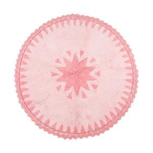 Covor roz pentru copii Warren, Ø110 cm