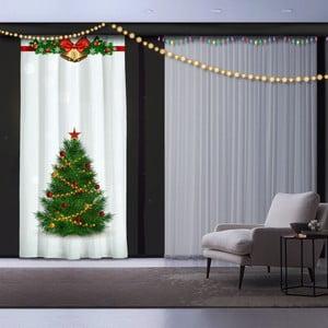 Vánoční závěs Christmas Tree, 140 x 260 cm