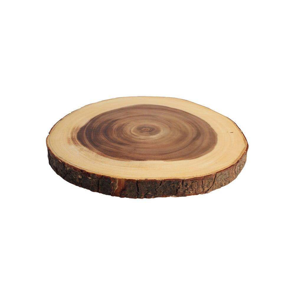Prkénko z akáciového dřeva T&G Woodware Round Board, ⌀ 31 cm