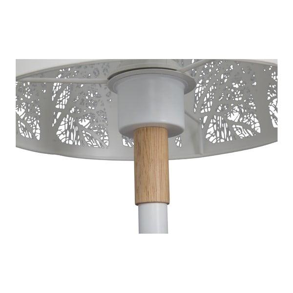 Stolní lampa s detailem z kaučukového dřeva Mauro Ferretti Forest