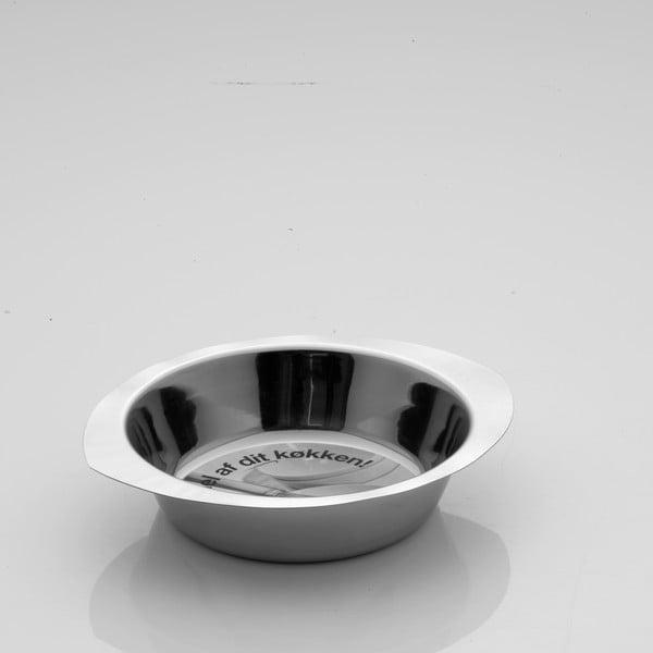 Oválná nerezová miska Steel, 25 cm