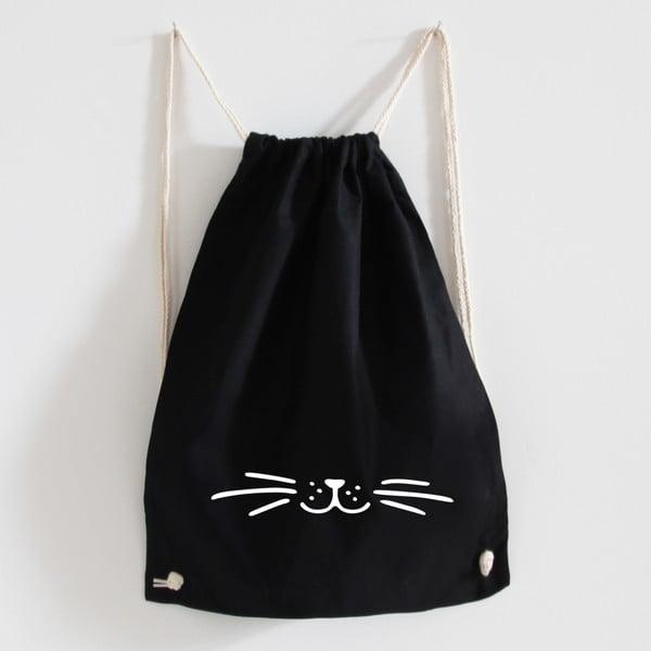 Plátěný batoh Schnurr Black