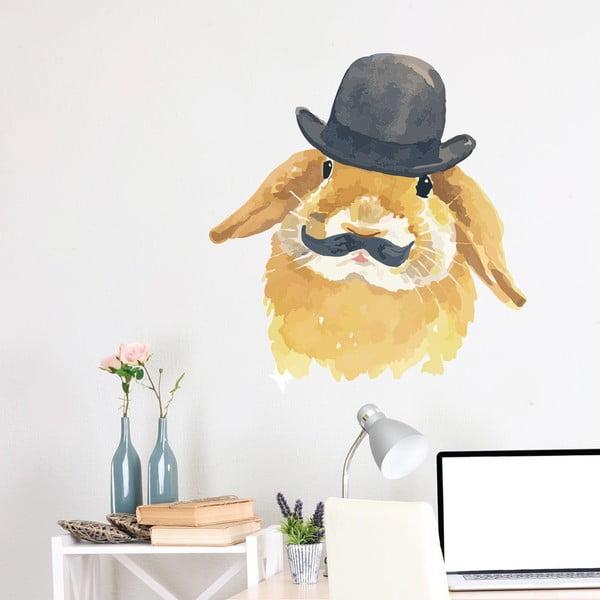 Samolepka na stěnu Bunny, 70x50 cm