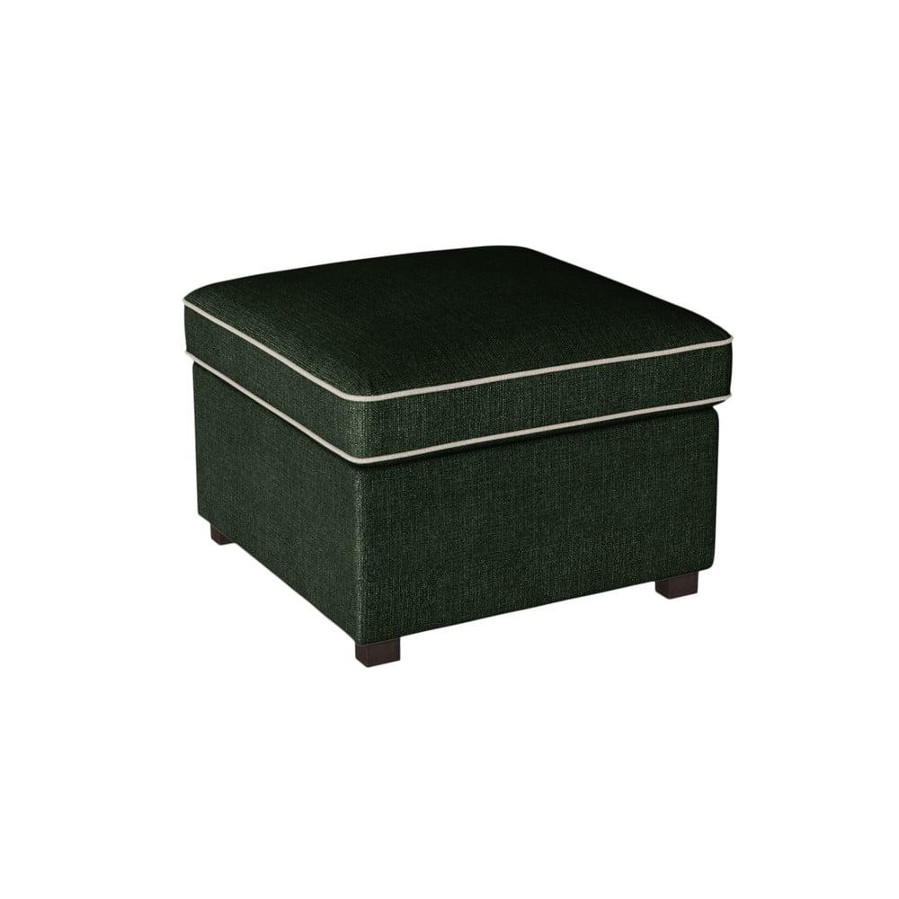 Zelená podnožka s krémovými lemy Rodier Organdi