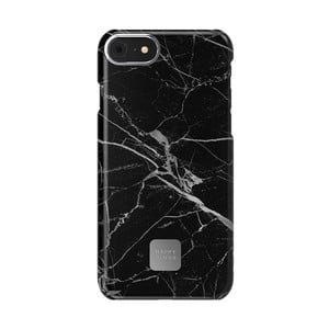 Černo-šedý ochranný kryt na telefon pro iPhone 7 a 8 Happy Plugs Slim