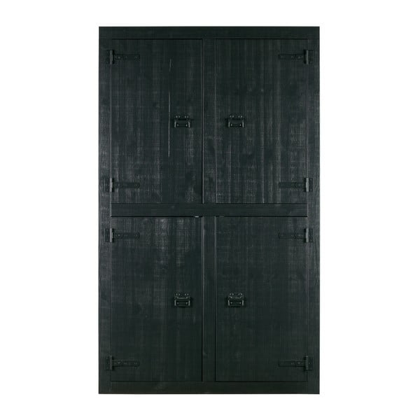 Černá skříň vtwonen Bunk