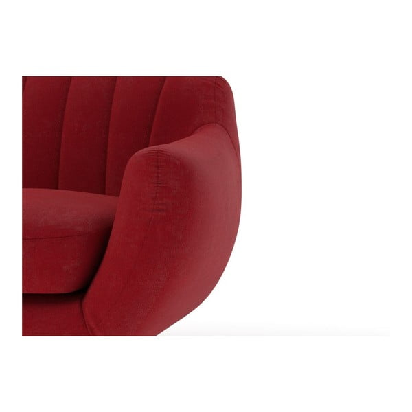 Sofa Azure pro dva, červené