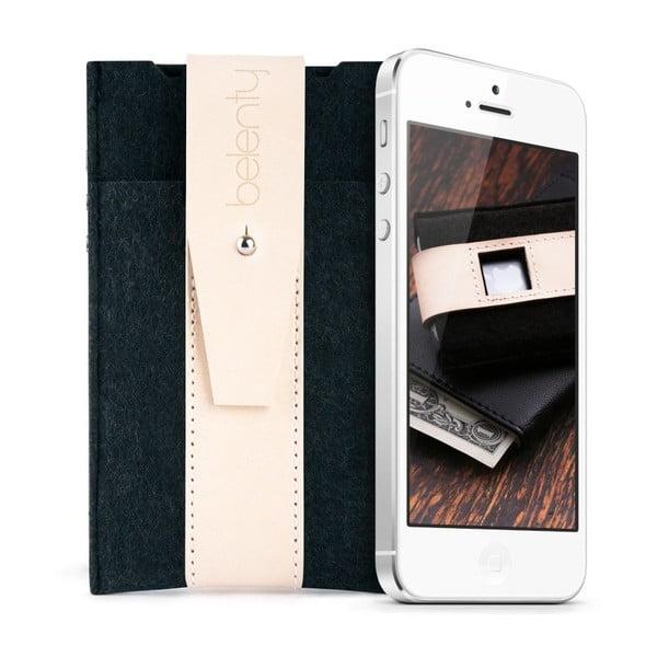 Pouzdro na iPhone 5 Cream, mírně poškozený obal