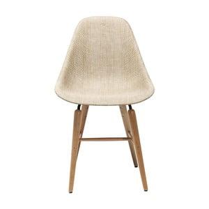 Krémová židle Kare Design Forum