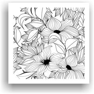 Obraz k vymalování Color It no. 3, 50x50 cm