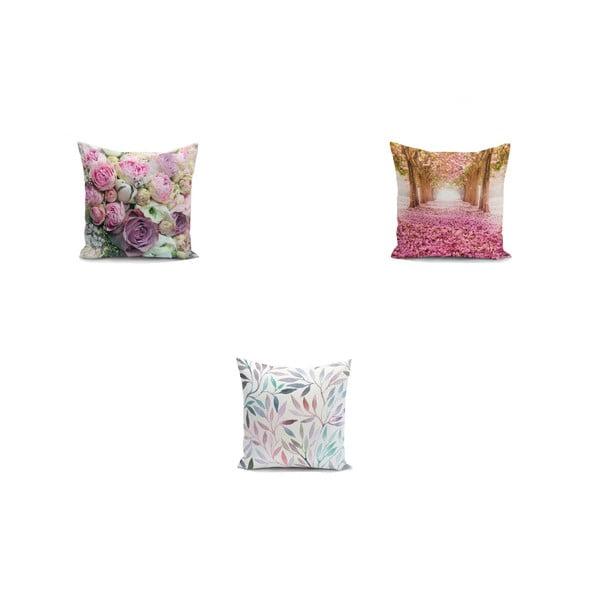 Set 3 fețe de pernă Minimalist Cushion Covers Mesmia, 45 x 45 cm