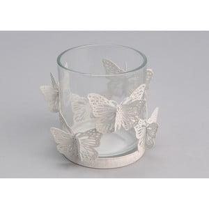 Stojan na svíčku White Butterfly