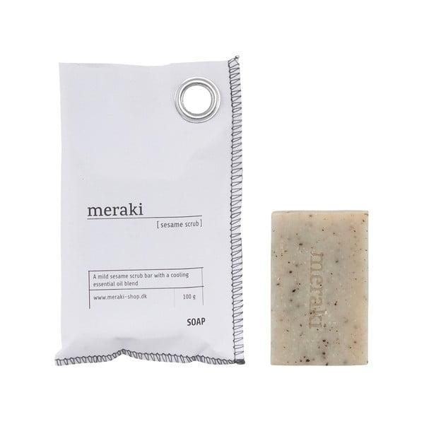 Mydlo na ruky Meraki Sesame Scrub, 100 g