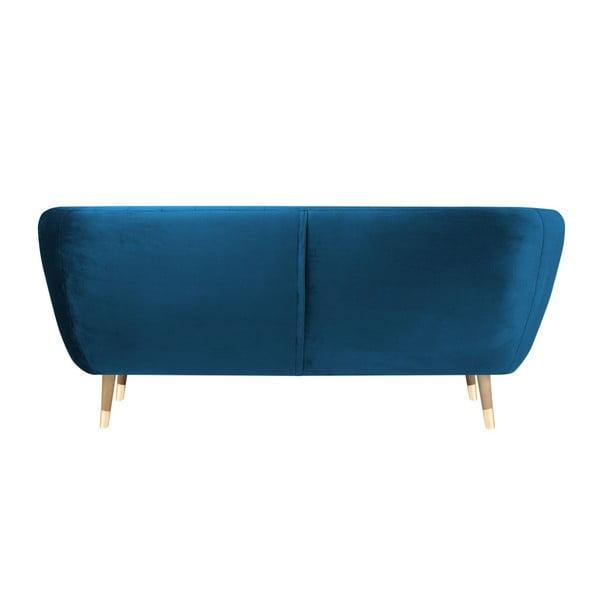 Modrá třímístná pohovka Mazzini Sofas Benito