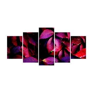 Vícedílný obraz La Maison Des Couleurs PurpleLeaves