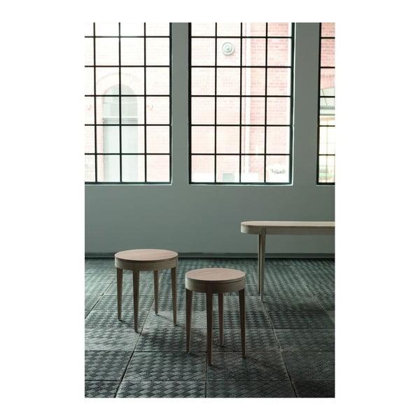 Odkládací stolek Secret Oak, 55x50 cm