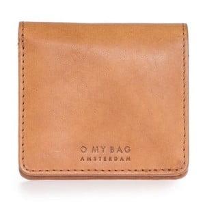 Hnědá kožená peněženka O My Bag Alex
