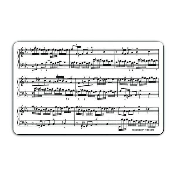 Podložka na krájení pečiva Remember Musicians, 23,5 x 14,3 cm