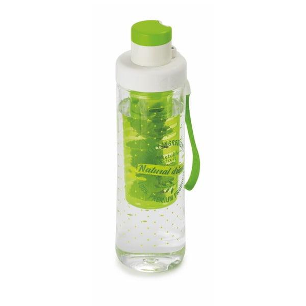 Zelená lahev na vodu se sítkem Snips Infuser,750ml