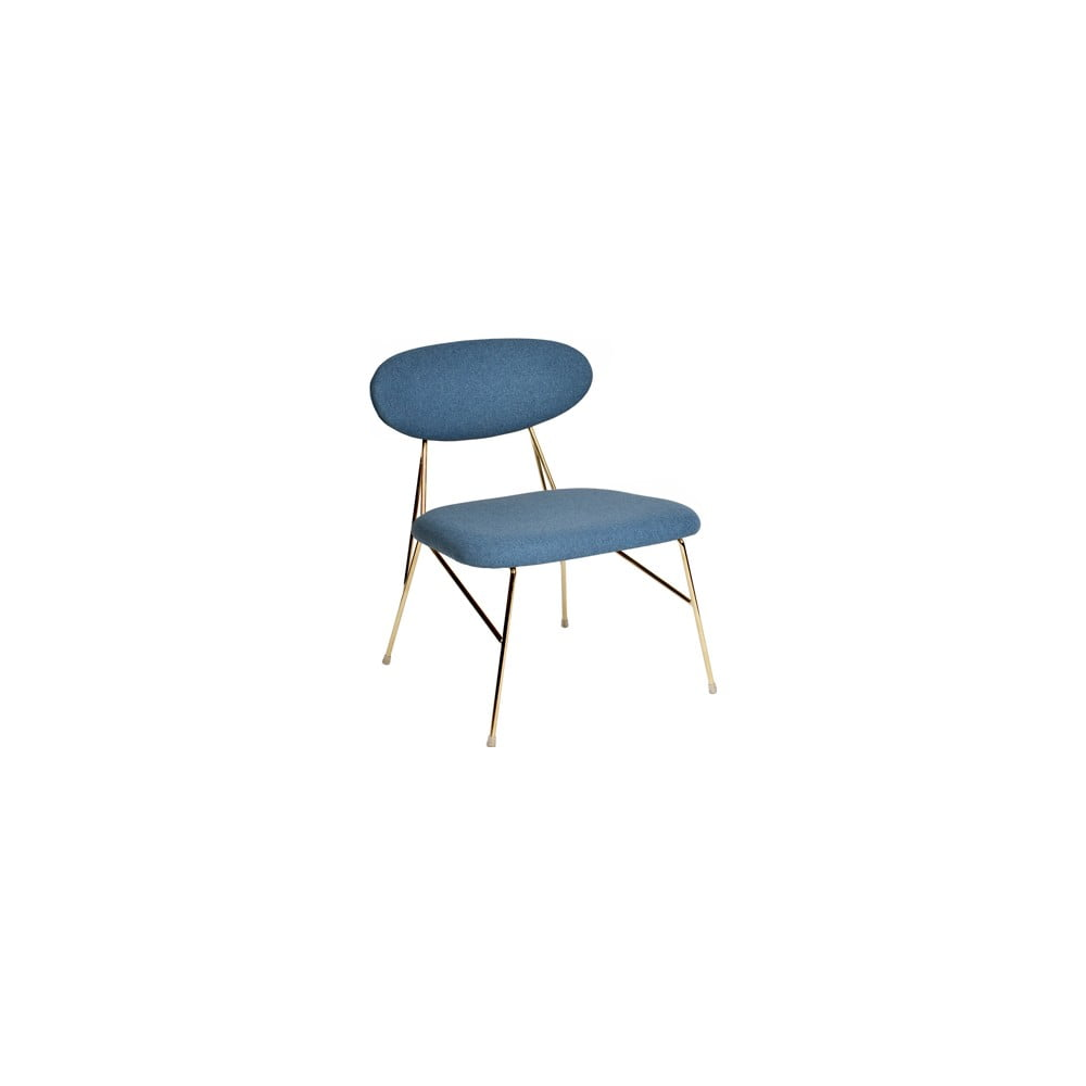 Modrá jídelní židle Leitmotiv Queen
