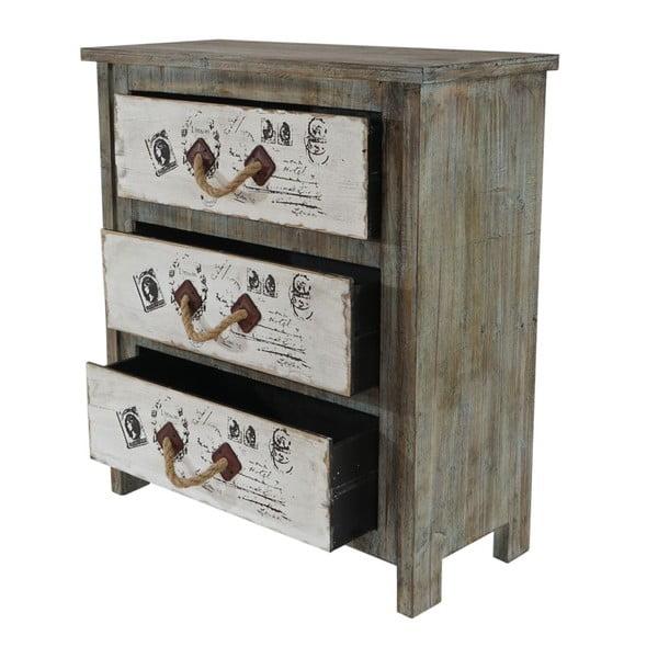 Dřevěná komoda Mendler Shabby Chic Aveiro
