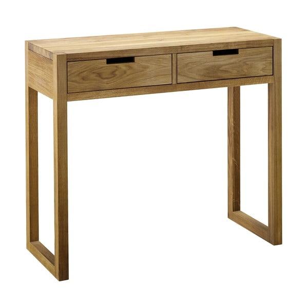 Konzolový stolek z dubového dřeva Fornestas Sims