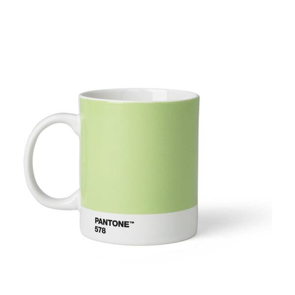 Cană Pantone 578, 375 ml, verde deschis