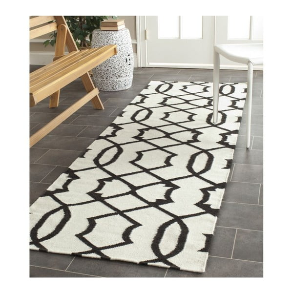 Vlněný ručně tkaný koberec Safavieh Margo, 91x152cm