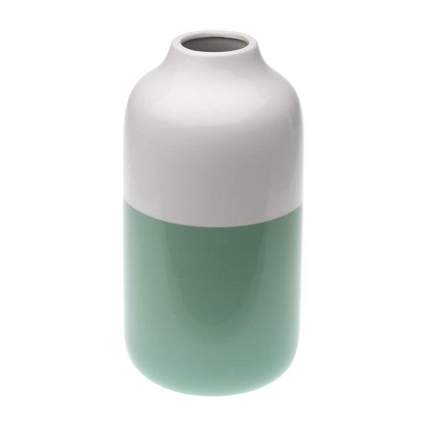 Zöld-fehér váza - Versa