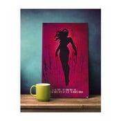 Cedule Wonder Woman, 45x28 cm