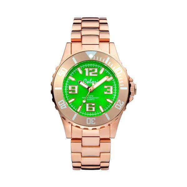 Hodinky Colori 33 Rose Green Colour
