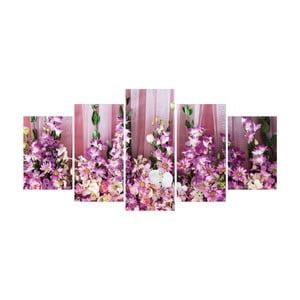 Vícedílný obraz La Maison Des Couleurs Pink Flowers