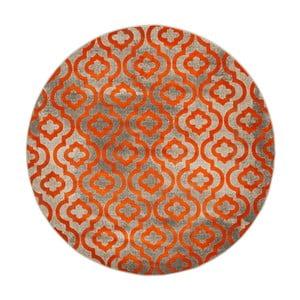 Oranžový koberec Webtappeti Evergreen,155cm